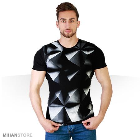 |ss|تی شرت سه بعدی Pyramid|